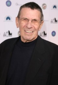 Photograph of Leonard Nimoy
